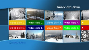 DVD s menu - Authoring