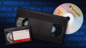 Přepis kazet VHS, VHS-C na DVD