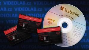 Přepis kazet miniDV na DVD