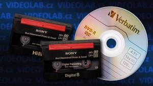 Přepis kazet video8, Hi8, Digital8, D8 na DVD