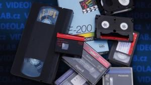 Převod kazet VHS, VHS-C, video 8, Hi8, Digital 8, D8, miniDV do PC